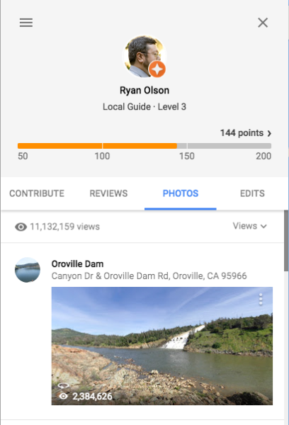 My profile on Google Maps.